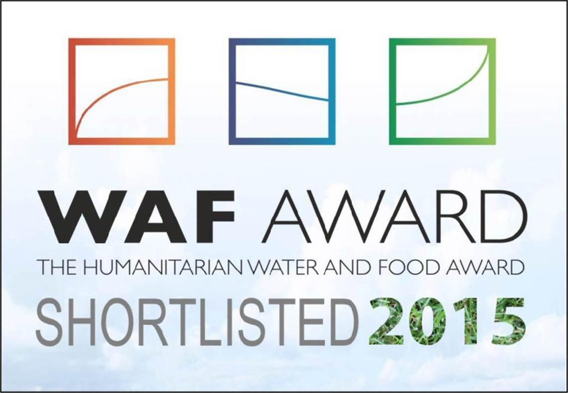 The Humanitarian Water and Food (WAF) Award