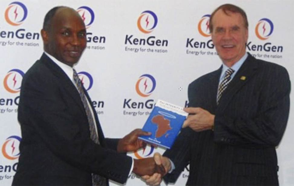 KenGen MD meets with Better Globe Chairman Rino Solberg