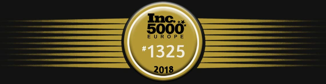 Better Globe AS earned the position of 1345 on the 2018 Inc. 5000 Europe