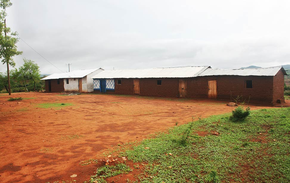 Kathithini school powered with electricity