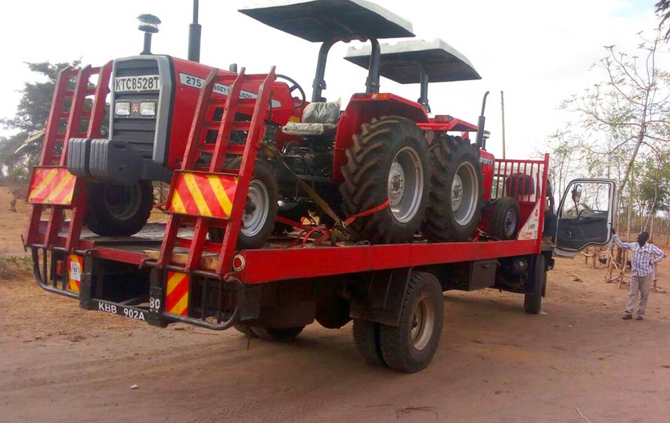 New tractors ready for the field in Better Globe Forestry