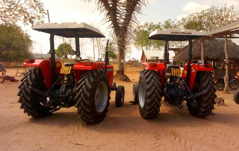 Better Globe Forestry - two new tractors