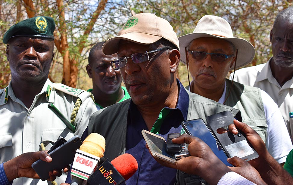 Cabinet Secretary for Environment and Forestry, Hon. Keriako Tobiko