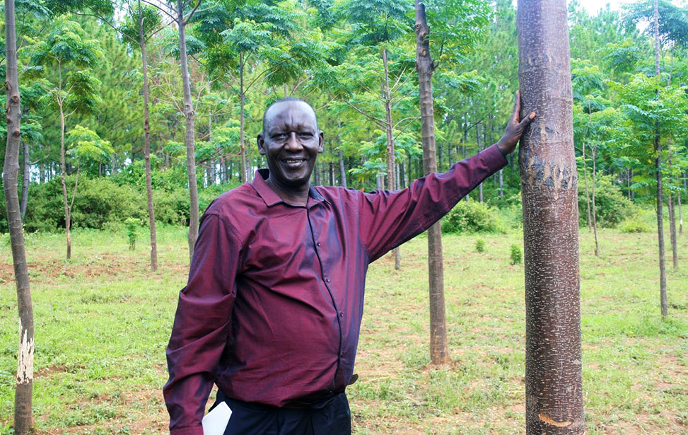 Julius Odwe, project leader
