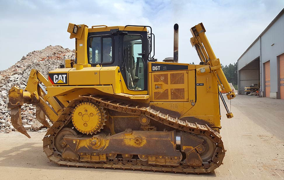 New Bulldozer to  Prepare for In-Vitro Facilities