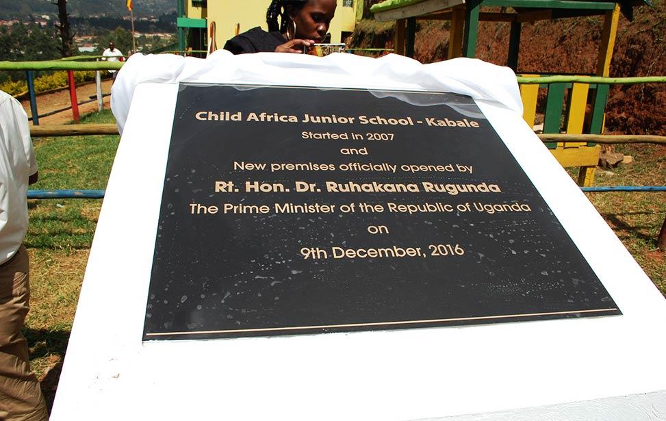 New premises opened by Prime Minister Ruhakana Rugunda in Uganda