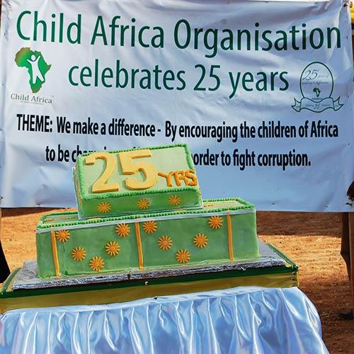 Child Africa celebrating 25 years of operation