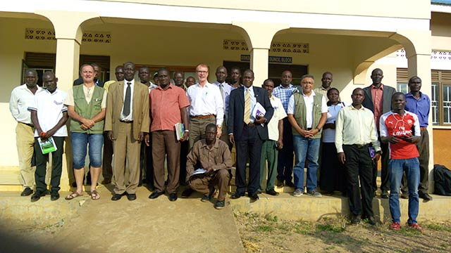 New farmers program in  Dokolo, Uganda