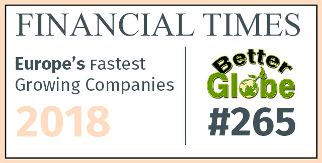Better Globe - One of the Fastest Growing Companies in Europe