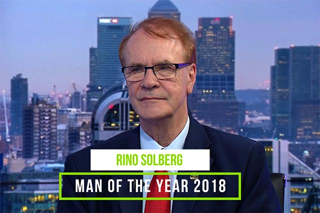 Rino Solberg - Man of the Year 2018